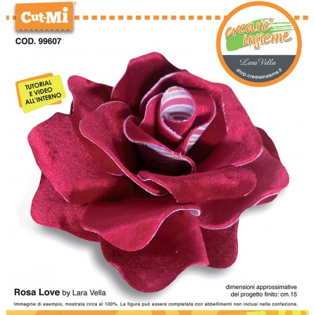 Fustella Cut-Mi Rosa Love cod 99607