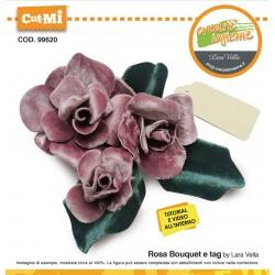 Fustella Cut-Mi Rosa Bouquet . cod 99620
