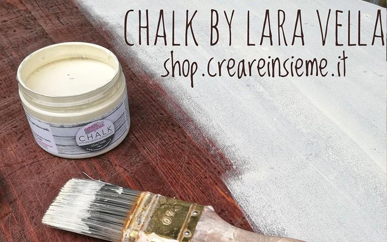 pittura ultaopaca Chalk per Shabby